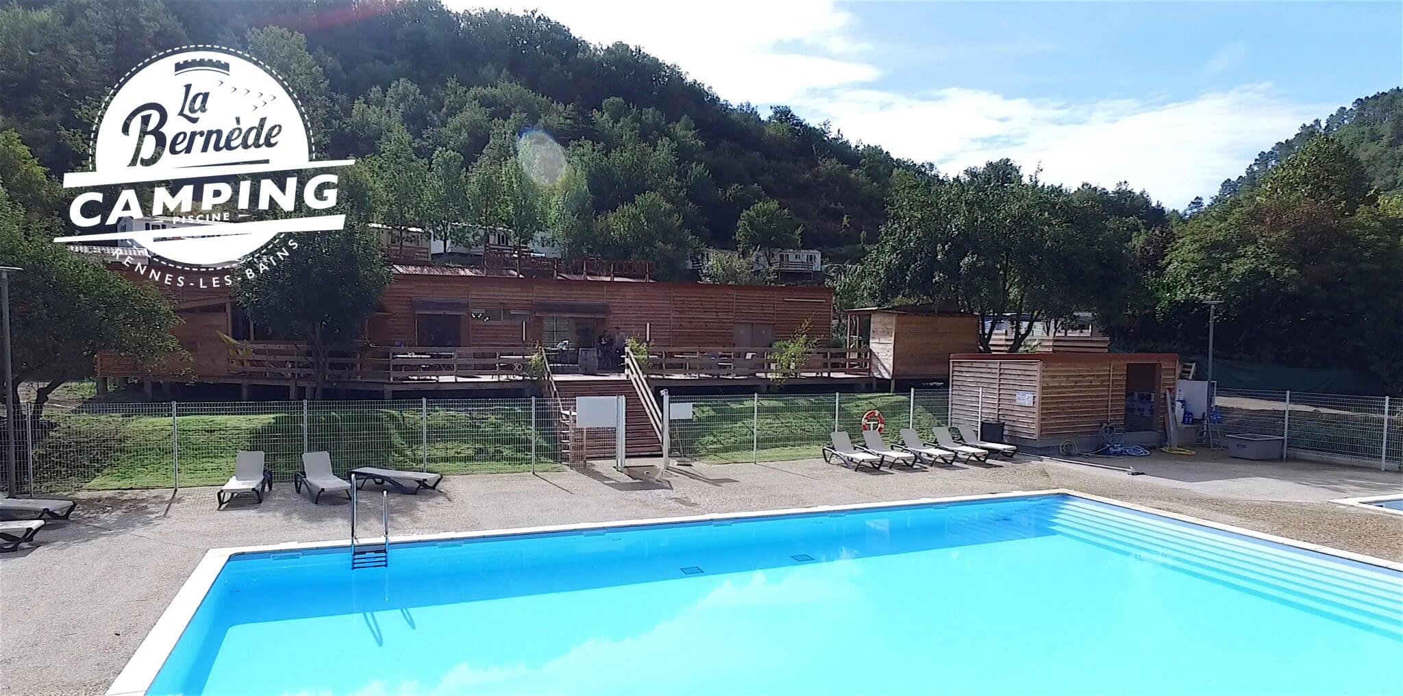 Swimming-pool campsite Rennes-les-Bains