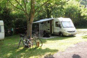 pitches campsite Rennes-les-Bains caravan tent