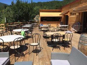 restaurant bar campsite Rennes-les-Bains