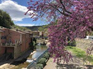 River village Rennes-les-Bains campsite