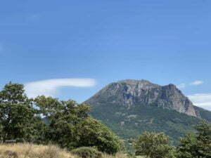 Mountain Bugarach campsite Rennes-les-Bains