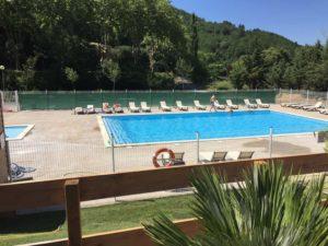 Campsite swimming-pool Rennes-les-Bains