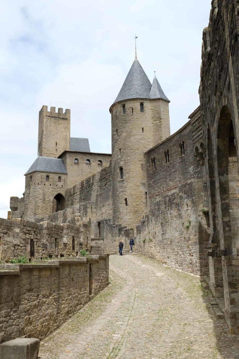Castle Carcassonne campsite Rennes-les-Bains