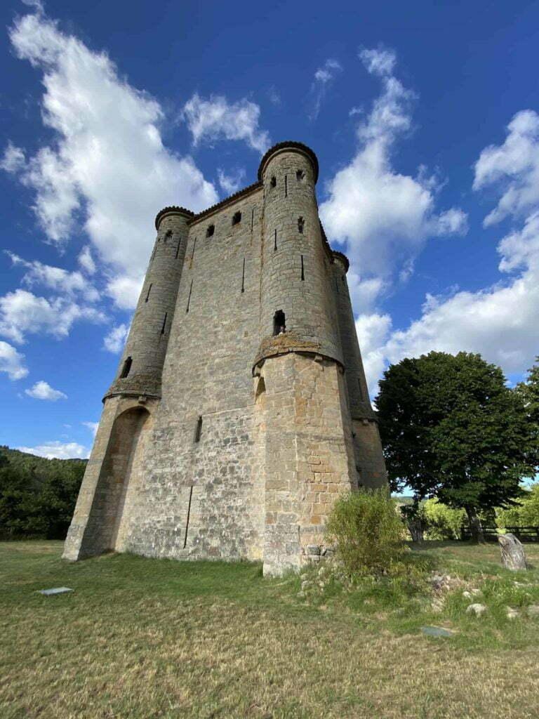 Castle Arques Campsite La Bernede