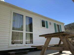static caravan campsite Rennes-les-Bains