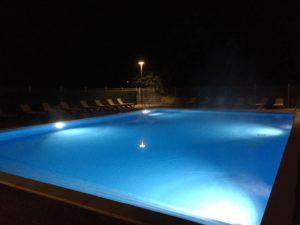 swimming-pool campsite La Bernede